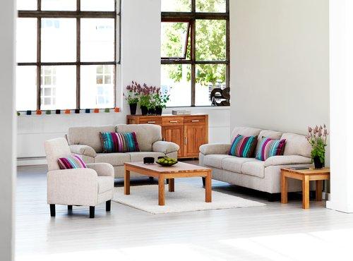 Кресло GEDSER текстиль песочный