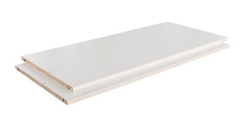 Einlegeböden TARP 73x45 2 Stk/Pck weiß