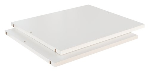 Shelves TARP/ONSTED 57x45 cm 2pcs white