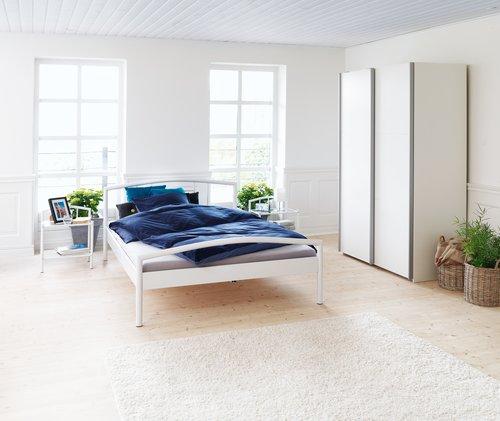Okvir kreveta VALSTED 140x200cm bijela
