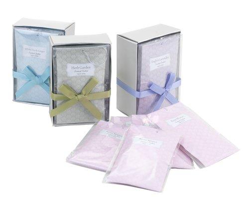 Saqu perfum HELGE 8x12cm 5uds/emb sort.