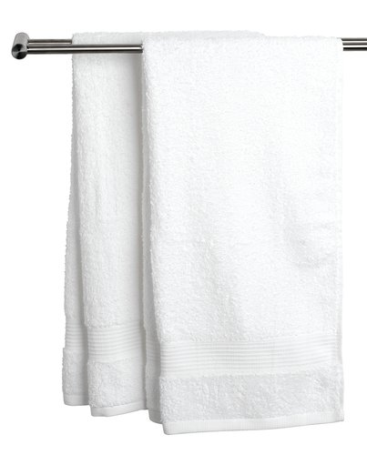Brisača KARLSTAD 100x150 cm bela