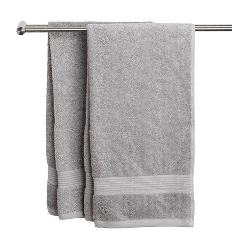 Хавлиена кърпа KARLSTAD 50x100см св.сива