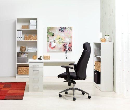 Työpöytä MARSLEV 60x110 valkoinen