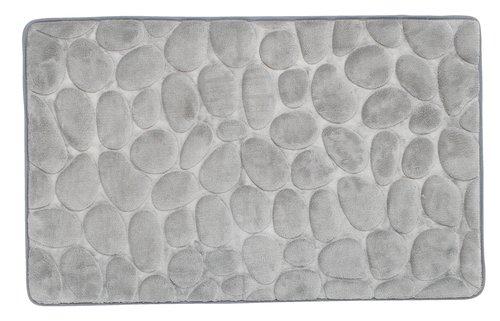 Alfombrilla baño PUKAVIK 50x80 gris
