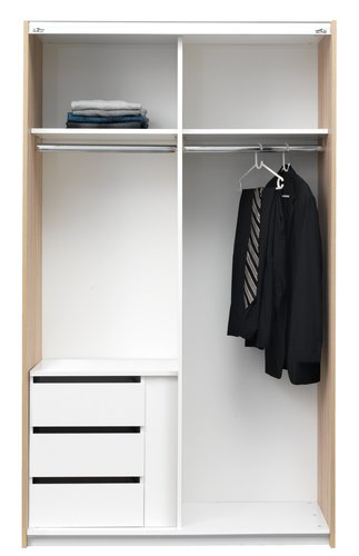 Inzetlades voor TARP 120 kledingkast