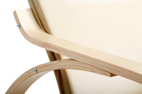 Люлеещ стол VIBY крем/бреза