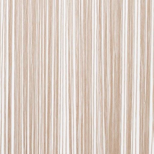 Nitková záclona NISSER 90x245 béžová