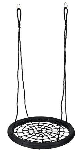 Huske FYRREMEJSE Ø97cm svart