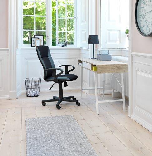 Radni stol ABBETVED 48x120 hrast/bijela
