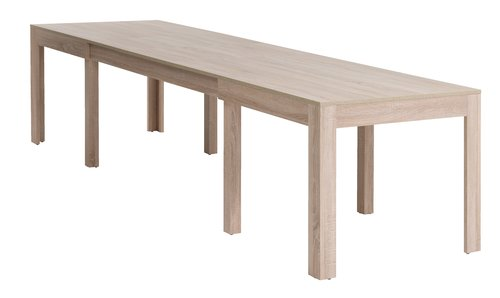 Dining table HALLUND 90x160/294 oak