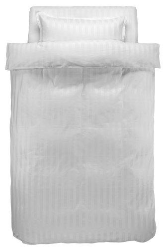 Пост. белье NELL 1,5СП сатин белый