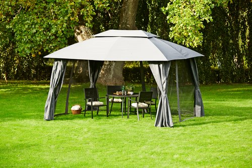 Gazebo SANKT HANS W300xL400 grey