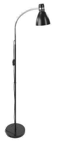 Floor lamp HANSSON D12xH145cm black