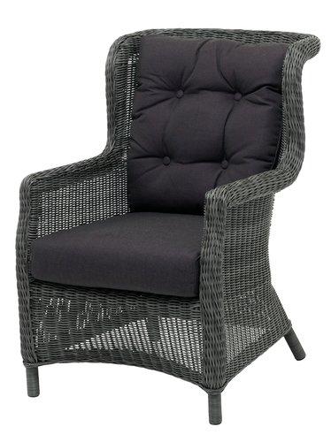 Loungestoel FALKENBERG grijs
