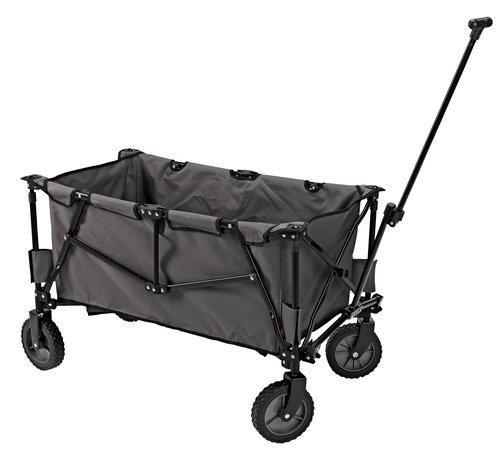 Trækvogn RAVN stål/polyester grå