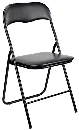 Сгъваем стол VIG черен
