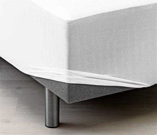 Muovitettu flanellilakana 90x200x40cm