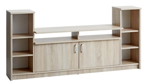 TV bench GENTOFTE oak