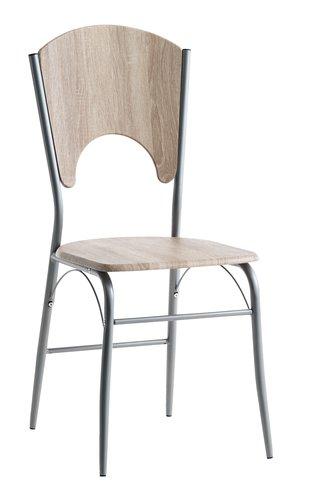 Krzesło THYHOLM metal/dąb