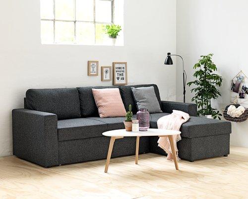 sofa med chaiselong tilbud