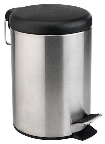 Odpadkový kôš GUNSTA 3L oceľ/čierna