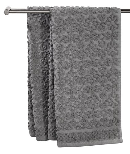 Хавлиена кърпа STIDSVIG 50x100см сива