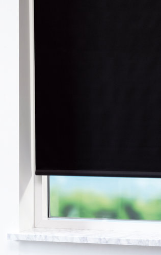 Blackout blind BOLGA 160x170cm black