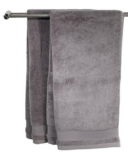 Hand towel NORA 50x100 grey