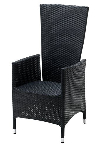 Recliner chair SKIVE black