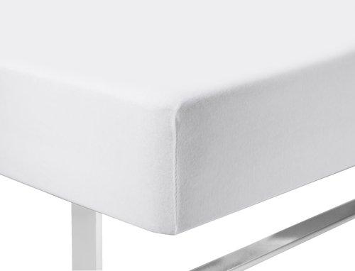 Jerseylagen 140/150x200x45cm hvid