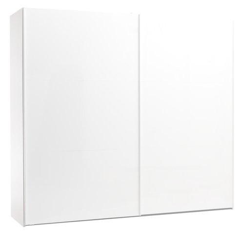 Wardrobe TARP 250x221 white high gloss