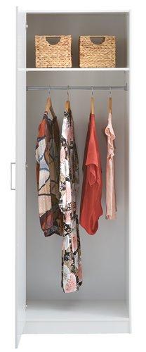 Garderob HAGENDRUP 60x176 vit