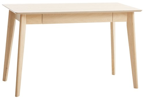 Desk KALBY 60x120 cm light oak