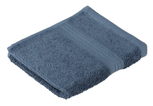 Face cloth KARLSTAD dusty blue KRONBORG