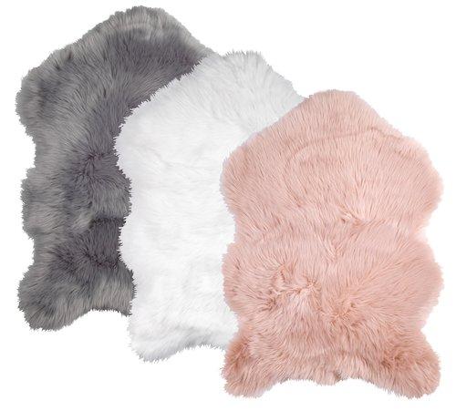 Umelá ovčia koža TAKS 60x90cm ružová