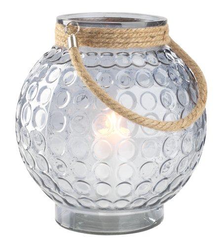 Lantaarn GRANMEIS Ø25xH29 glas