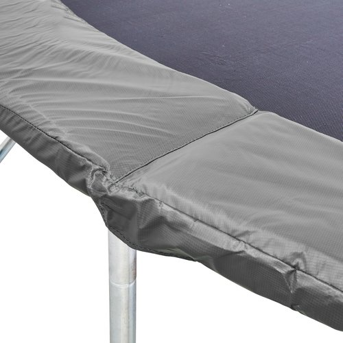 Studsmatta STOJ Ø426 m/säkerhetsnät grå