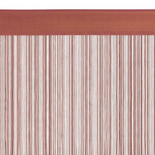 Končana zavjesa NISSER 90x245 ružičasta