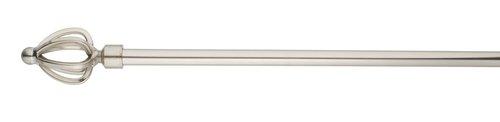 Gardinstång TULIP 90-160cm stål