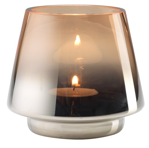 Portacandela BRYNJE Ø10xH9cm vetro