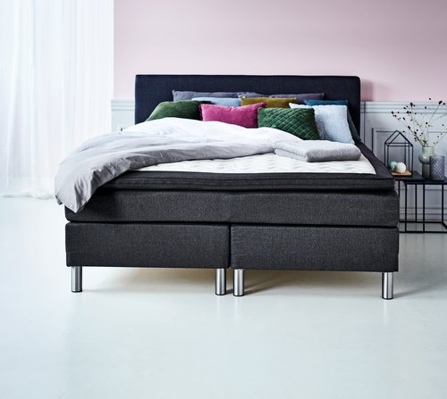 Boxspring 180x210 GOLD C35 traagschuim
