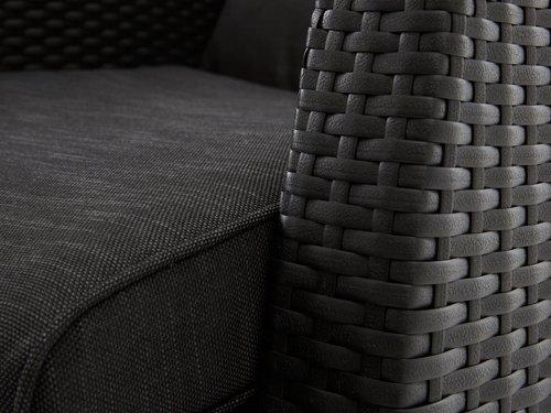 Ανακλινόμενη καρέκλα DOVRE μαύρο