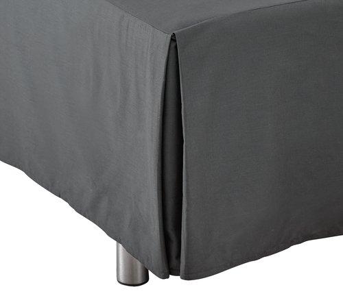 Kappelagen 140x200x45cm grå KRONBORG