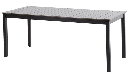 Table MOSS W95xL170/263 grey