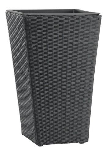 Pflanzkübel BLOMMOR 31x31x50 schwarz
