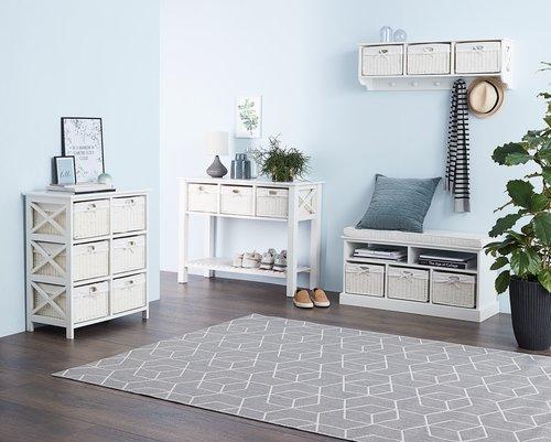 Συρταριέρα 9 καλάθια OURE λευκό