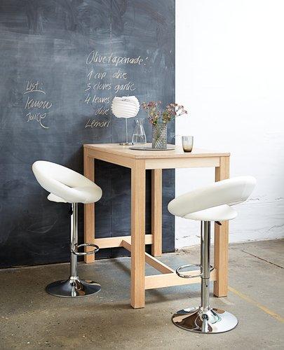 Stół barowy SEJS 70x120cm dąb