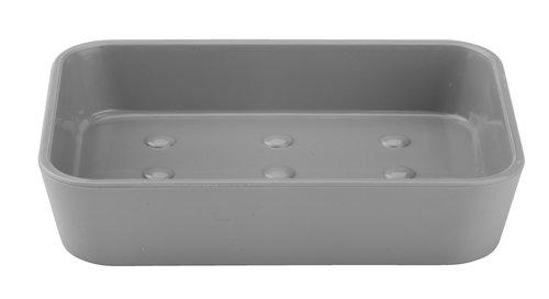Jabonera MALA gris plástico