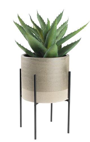Kunstig plante STEINAR Ø25xH30cm m/potte